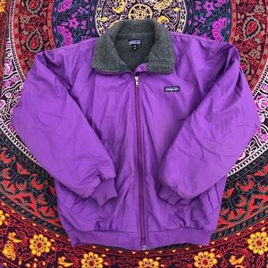 VTG 90s Patagonia Lilac Purple Jacket